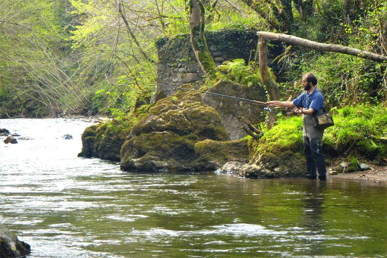 stage pêche au toc nive arnéguy