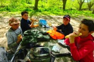 stage pêche enfants vacances pays basque