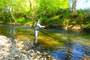 stage pêche au toc truite pays basque