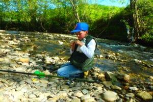 stage pêche truite vacances enfants pays basque