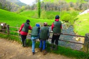 stage pêche truite au toc ruisseau kintoa urepel