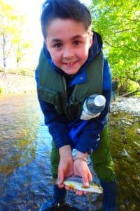 stage pêche truite jeune vacances pâques pays basque