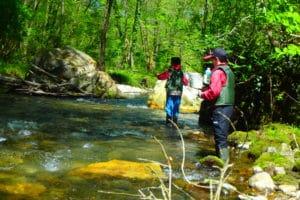 moniteur guide pêche stage truite au leurre nive arnéguy